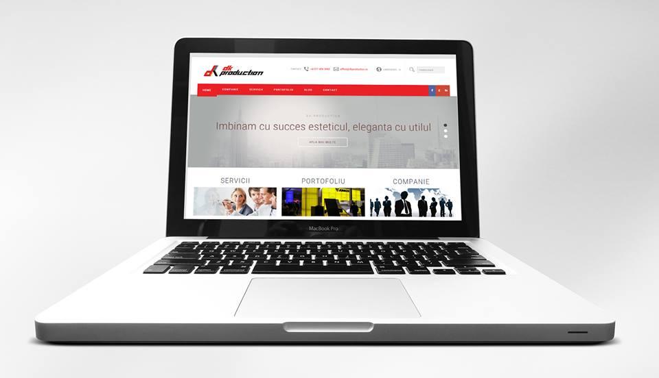 Web design și găzduire site pentru firmă standuri expoziționale București