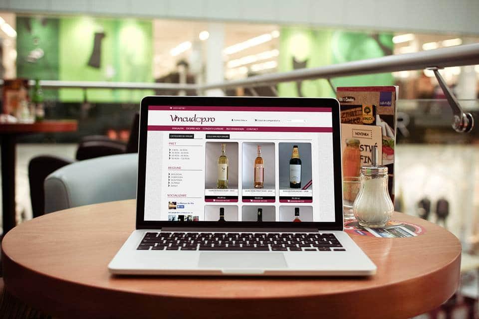 Realizare magazin on-line La Maison du Vin Bacău
