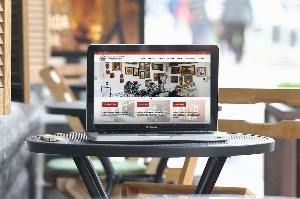 Realizare si construire magazin on-line de accesorii si rame foto